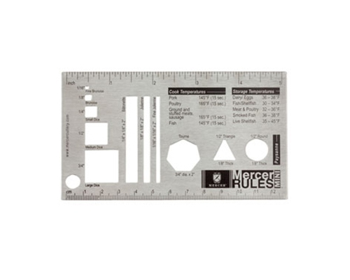 Mercer Mini Cut Ruler
