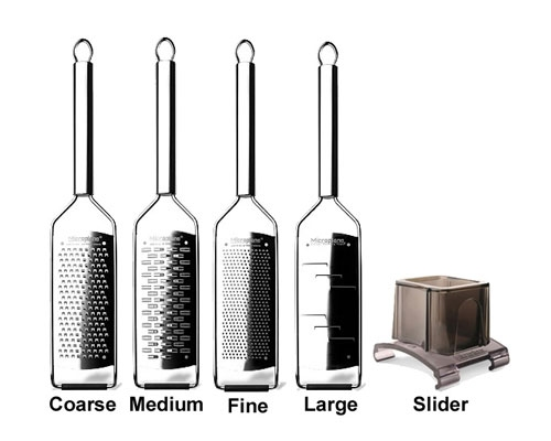 Microplane Professional 5 pc Grater Set