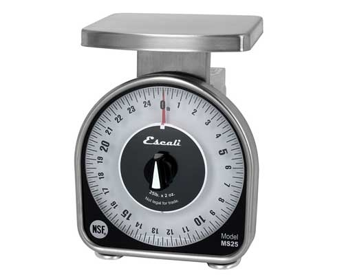 Escali 2 lb. Mechanical Dial Scale