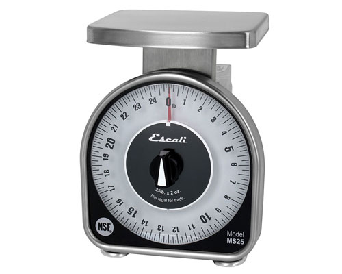 Escali 25 lb. Mechanical Scale