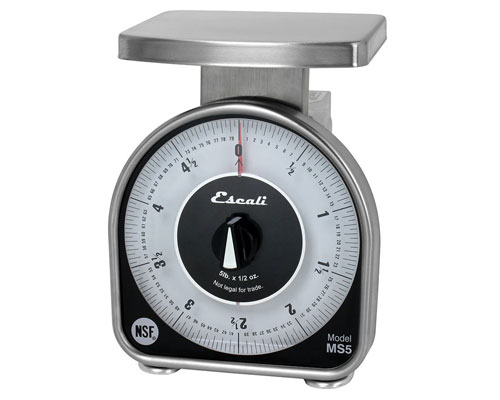 Escali 5 lb. Mechanical Scale