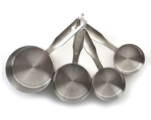 Norpro 4pc Stainless Steel Measuring Cups