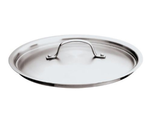 Paderno Pro 7-1/8 in. Stainless Steel Lid