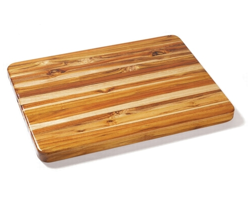 Proteak 24 in. x 18 in. x 1 1/2 in. Edge Grain Teak Cutting Board