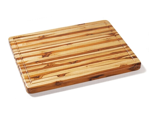 Proteak 24 in. x 18 in. x 1 1/2 in. Edge Grain Cutting Board