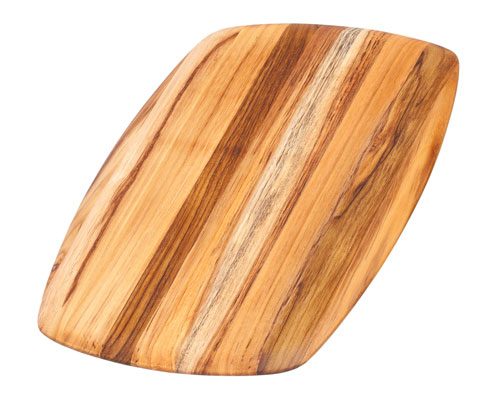 Proteak 16 x 11 x 0.55 in. Edge Grain Cutting Board