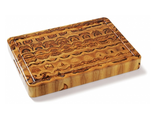 Proteak 20 in. x 14 in. x 2 1/2 in. End Grain Teak Cutting Board