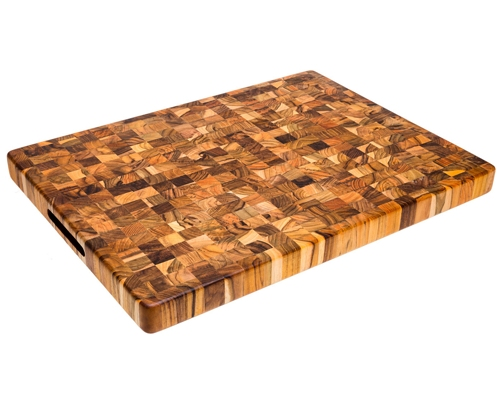 Proteak 24 x 18 x 1.5 in. End Grain Cutting Board
