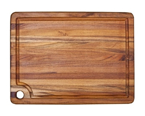 Proteak 18 x 14 x .75 in. Rectangular Edge Grain Cutting Board