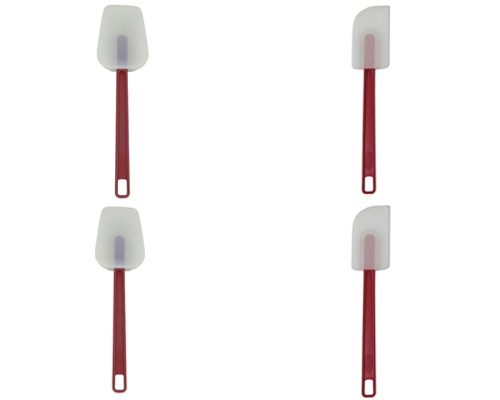 Update Int'l 4pc Silicone High Heat Spatula Set