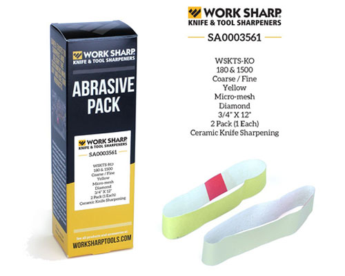 Work Sharp KO Diamond Belt - Abrasive Pack