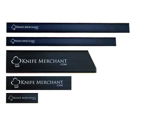 Knife Merchant 5 Piece Edge Guard Set with 8 in. Chef Knife Guard