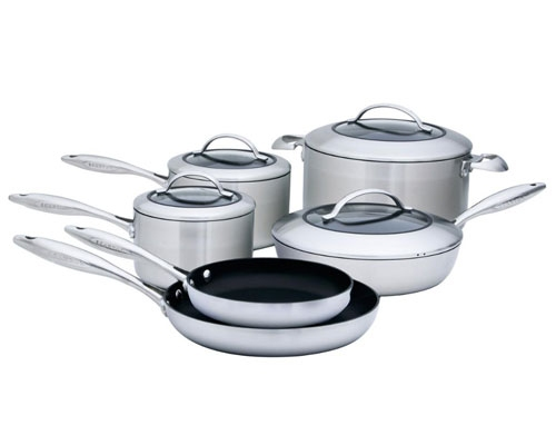 Scanpan CTX 10 pc Deluxe Cookware Set