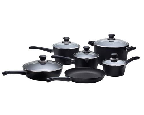 Scanpan Professional 10 Pc Deluxe Cookware Set