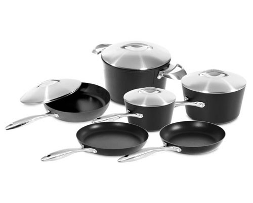 Scanpan Professional 10 pc Deluxe Cookware Gift Set
