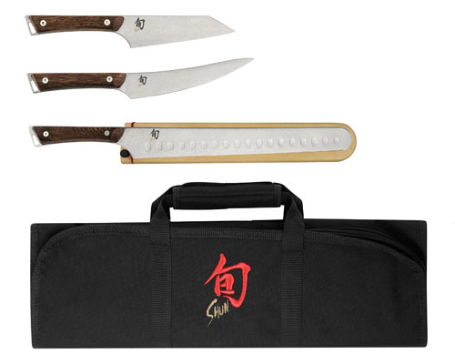 Shun Kanso 4pc BBQ Set <font color=red>On Sale</font>