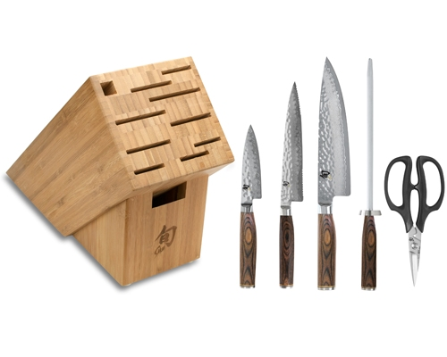 Shun Premier 6 Piece Knife Set <font color=red>On Sale</font>