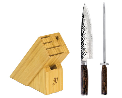 Shun Premier 3 Piece Build A Block Knife Set