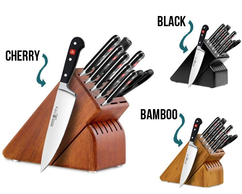 Wusthof Classic 10 Pc Knife Set