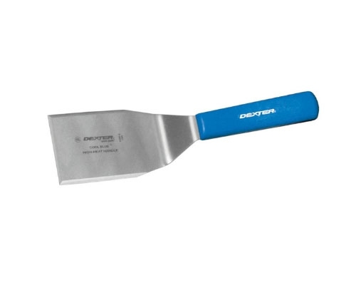 Dexter 4 x 3 in. Cool Blue Hamburger Turner