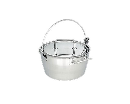 Demeyere Resto 11.8 in. Stew Pot with Lid