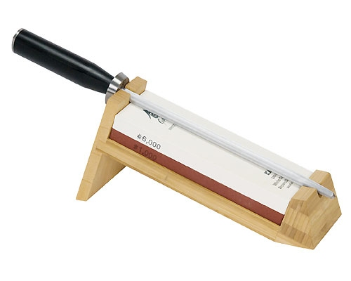 Shun 3 piece Water Stone Sharpening System